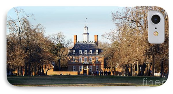 The Governor's Palace IPhone Case by Patti Whitten