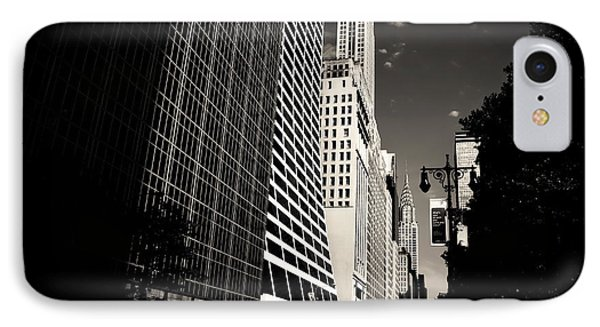 The Grace Building And The Chrysler Building - New York City IPhone Case by Vivienne Gucwa