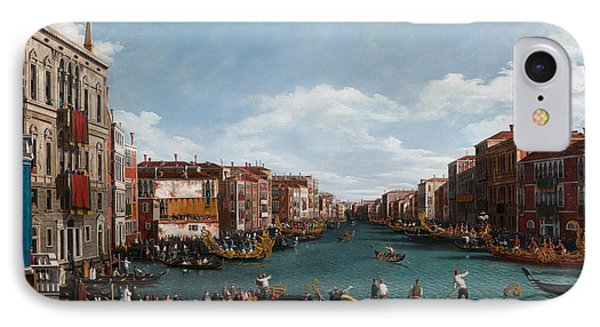 The Grand Canal At Venice IPhone Case