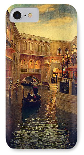 The Grand Canal Shoppes IPhone Case by Maria Angelica Maira