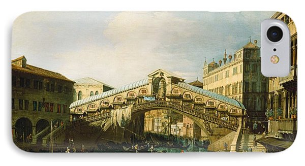 The Grand Canal   Venice IPhone Case by Canaletto