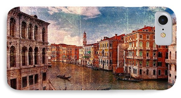 The Grand Canal Venice Italy Phone Case by Suzanne Powers