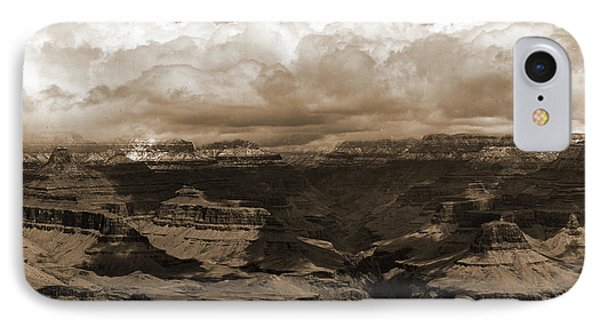 The Grand Canon In Arizona Across From Bright Angel Hotel IPhone Case