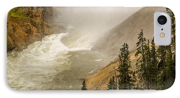 IPhone Case featuring the photograph The Grand Canyon Of Yellowstone by Yeates Photography