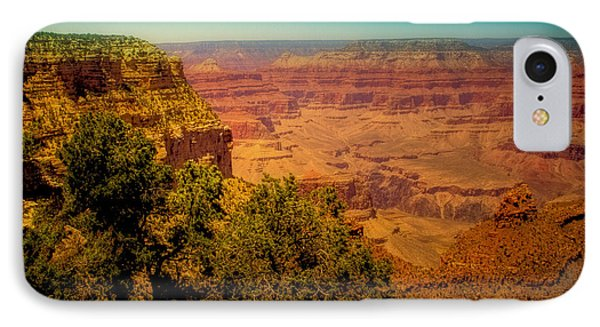 The Grand Canyon Vintage Americana Vii Phone Case by David Patterson
