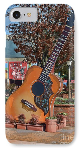 The Grand Ole Opry IPhone Case by Donna Greene