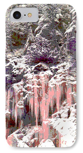 The Grand Stillness Of Winter IPhone Case by Ann Johndro-Collins