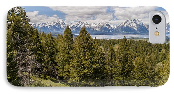 The Grand Tetons From Signal Mountain - Grand Teton National Park Wyoming Phone Case by Brian Harig