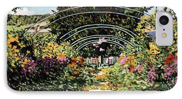 The Grande Alle Monet's Garden Phone Case by David Lloyd Glover