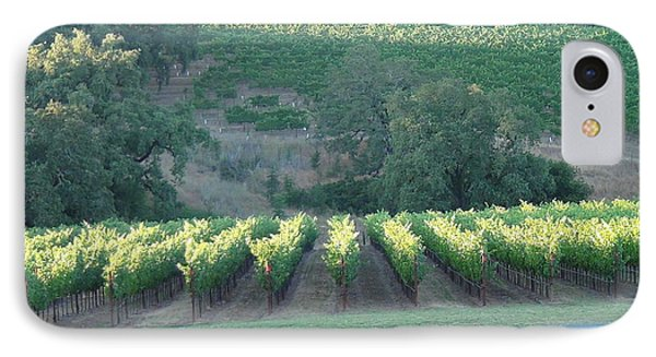 IPhone Case featuring the photograph The Grape Lines by Shawn Marlow