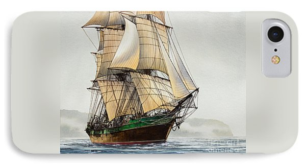 The Great Age Of Sail Phone Case by James Williamson