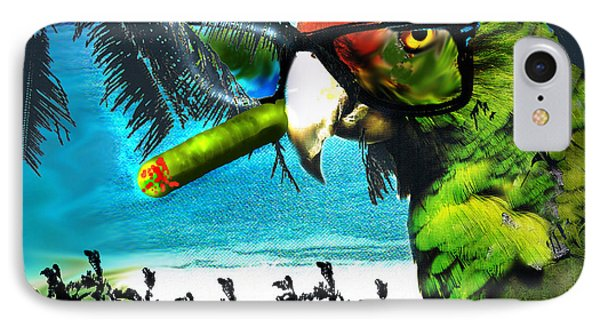 IPhone Case featuring the digital art The Great Bird Of Casablanca by Seth Weaver