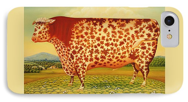 The Great Bull IPhone 7 Case by Frances Broomfield
