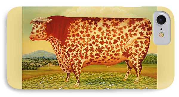 The Great Bull IPhone Case by Frances Broomfield