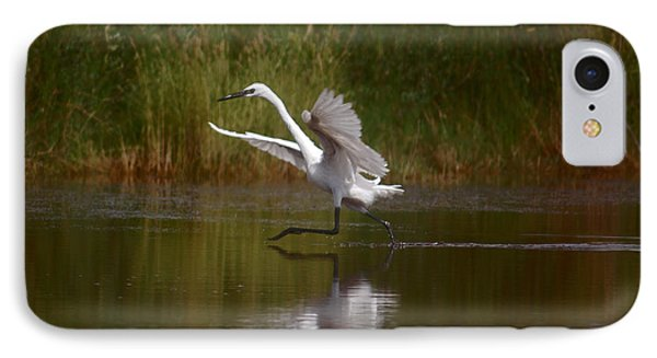 IPhone Case featuring the photograph The Great Egret by Leticia Latocki