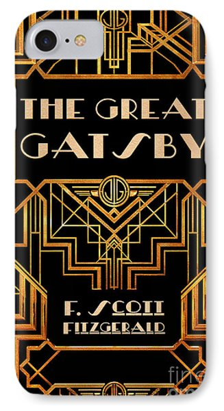 The Great Gatsby Book Cover Movie Poster Art 3 IPhone Case