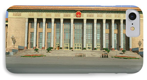 The Great Hall Of The People IPhone Case by Panoramic Images