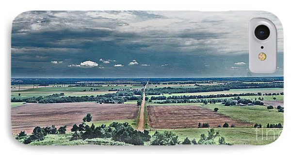 The Great Plains IPhone Case by Betty Morgan