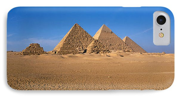 The Great Pyramids Giza Egypt IPhone Case by Panoramic Images