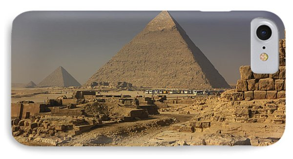 The Great Pyramids Of Giza Egypt  Phone Case by Ivan Pendjakov