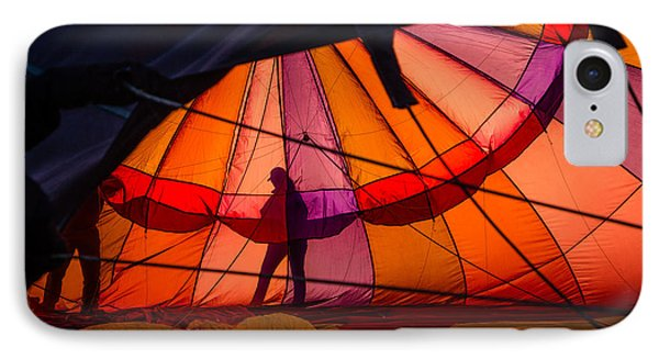 IPhone Case featuring the photograph The Great Reno Balloon Race 01 by Janis Knight