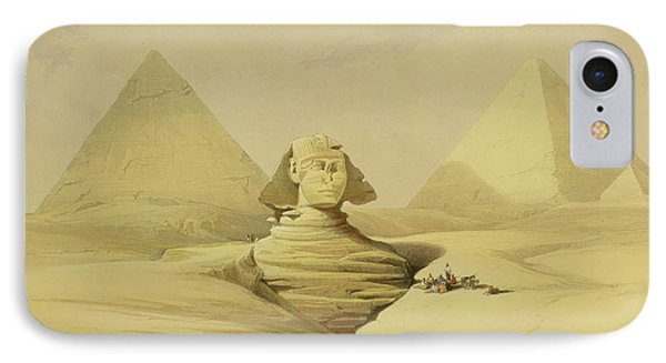 The Great Sphinx And The Pyramids Of Giza IPhone Case
