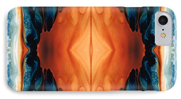 The Great Spirit - Abstract Art By Sharon Cummings IPhone Case