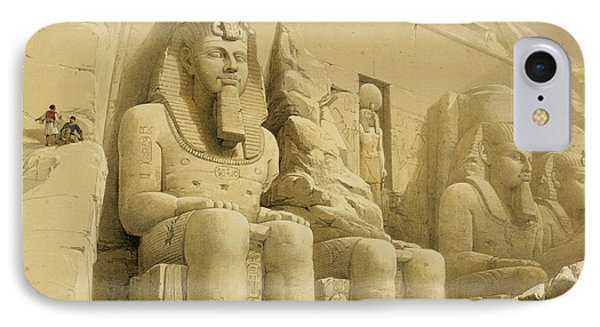 The Great Temple Of Abu Simbel IPhone Case