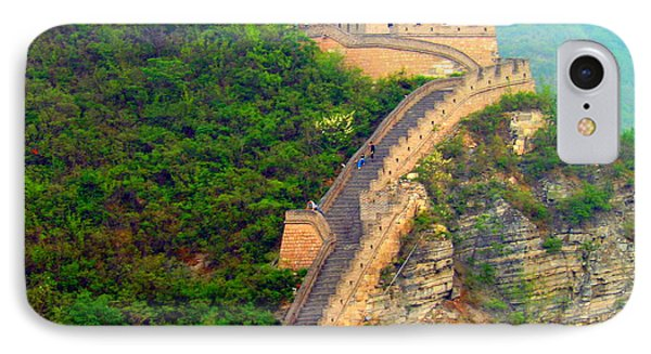 IPhone Case featuring the photograph The Great Wall 2 by Kay Gilley