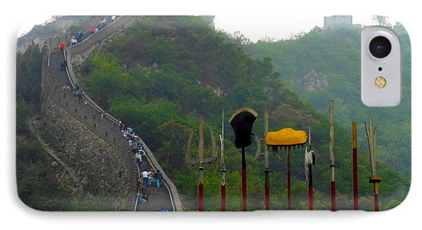 IPhone Case featuring the photograph The Great Wall by Kay Gilley