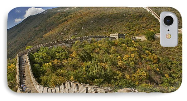 The Great Wall Of China At Mutianyu 2 IPhone Case