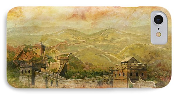 The Great Wall Of China Phone Case by Catf