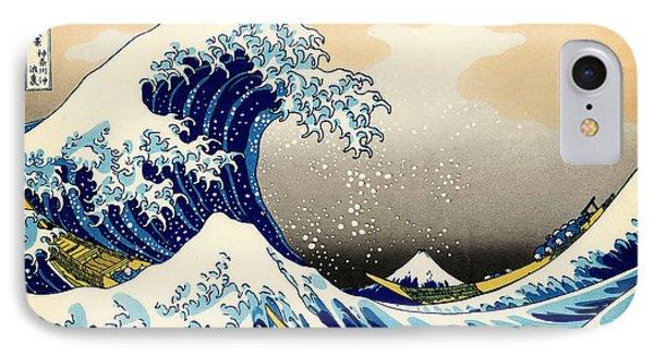 The Great Wave At Kanagawa IPhone Case