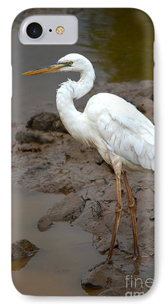 The Great White Heron  IPhone Case