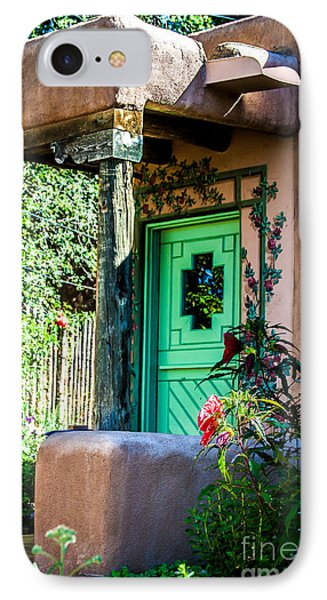 The Green Door IPhone Case by Jim McCain