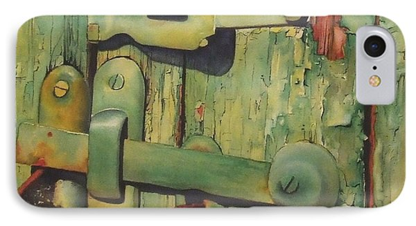 The Green Latch IPhone Case by Greg and Linda Halom