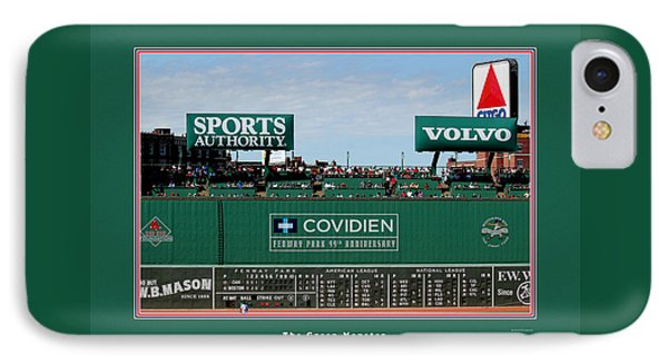 The Green Monster Fenway Park IPhone Case by Tom Prendergast