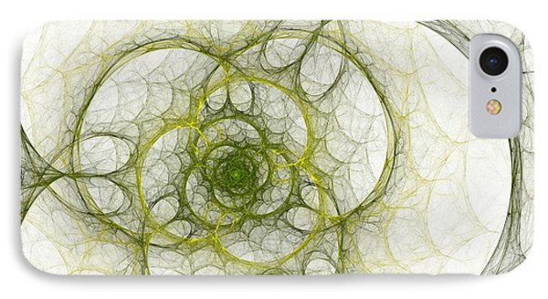 The Green Sphere IPhone Case by Steve K