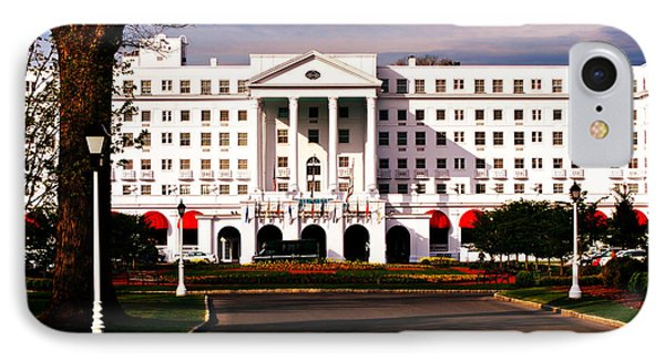 The Greenbrier Resort IPhone Case by Chastity Hoff