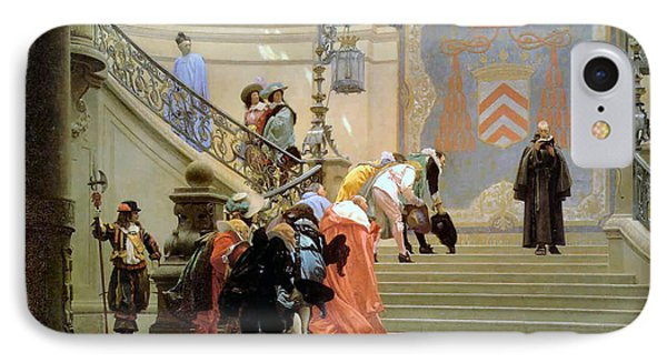 The Grey Cardinal Phone Case by Jean Leon Gerome