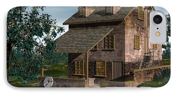 The Gristmill - Batsto N J IPhone Case by John Pangia