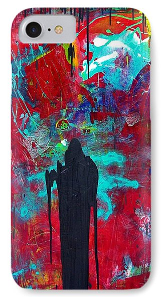 IPhone Case featuring the painting The Guardian by Carolyn Repka