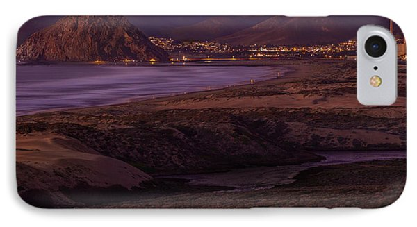 The Guardian--- Morro Bay IPhone Case by Tim Bryan