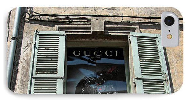 The Gucci Window IPhone Case by John Stuart Webbstock