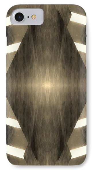 The Guggenheim Mirror Collection In Quad Colors Dark Light Sepia IPhone Case