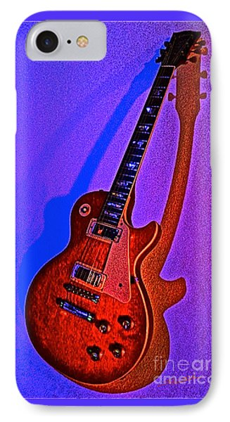 The Guitar After Party IPhone Case by Gem S Visionary