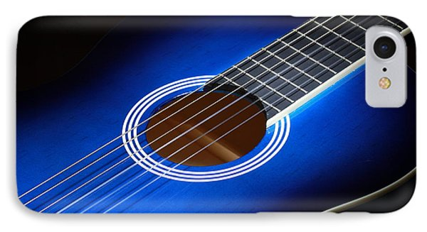 IPhone Case featuring the photograph The Guitar by Keith Hawley