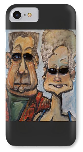 The Gundersons Take A Cruise IPhone Case by Tim Nyberg