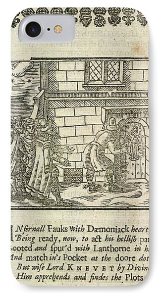 The Gunpowder Plot Conspirators IPhone Case by British Library