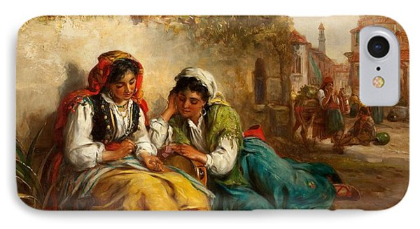 The Gypsies IPhone Case by Thomas Kent Pelham